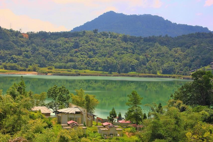 Danau Tondano menjadi danau terluas yang ada di Sulawesi Utara