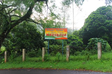 Pemandian Air Panas Maribaya menjadi objek rekreasi alternatif di kawasan Lembang