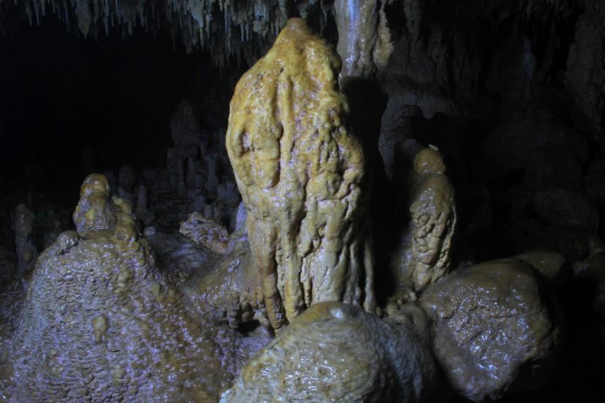 Tidak jarang wisatawan yang datang berkunjung ke pantai ini terkagum-kagum melihat pemandangan didalam gua