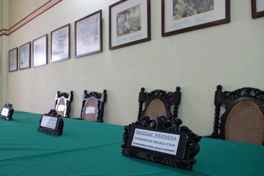 Pada perundingan ini Indonesia di ketuai oleh Sutan Syahrir sebagai ketua delegasi Perundingan Linggarjati