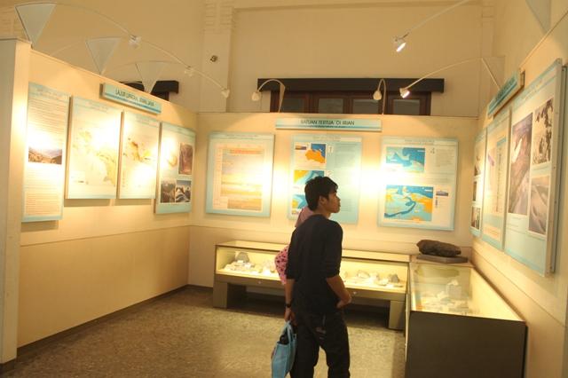 Pengunjung yang berkunjung ke museum ini dapat mempelajari segala hal tentang fosil