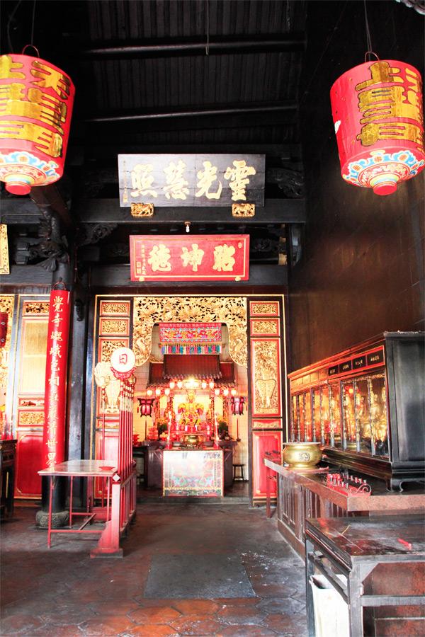 Klenteng Tay Kak Sie sudah berdiri sejak tahun 1746