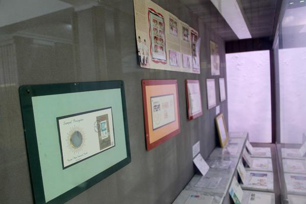 Salah satu koleksi yang di miliki Museum Pos Indonesia