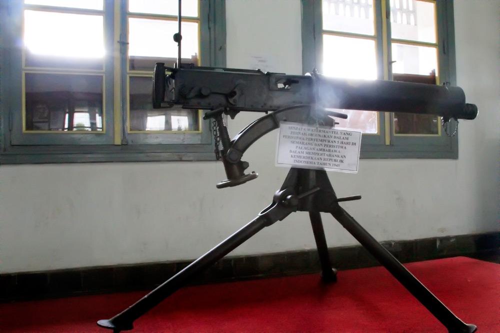 Salah satu koleksi senjata yang dimiliki Museum Mandala Bhakti