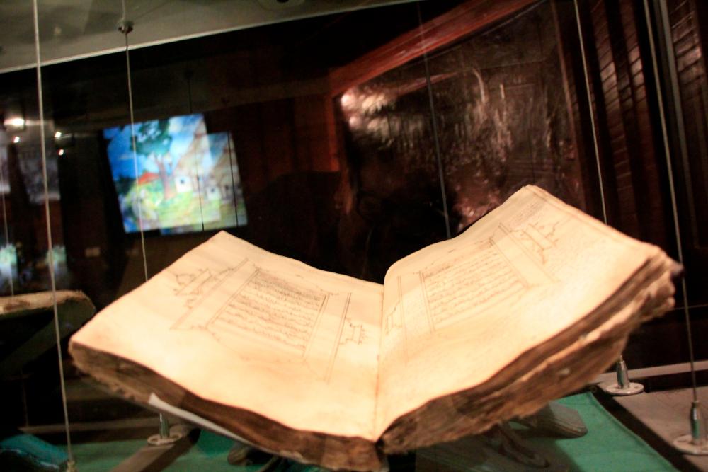 Al-Quran tertua koleksi Museum Perkembangan Islam