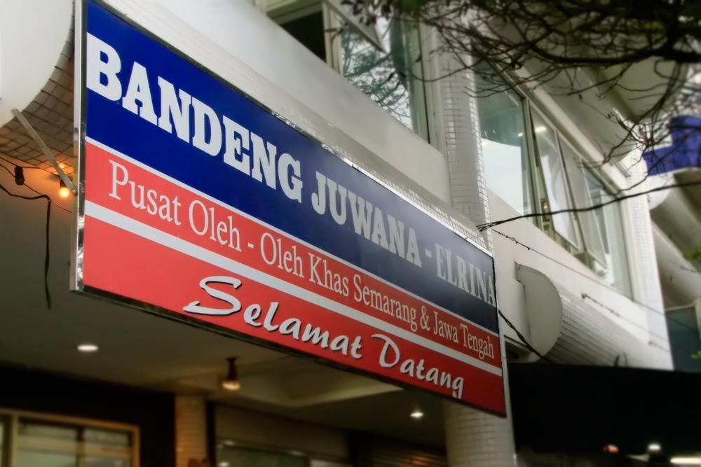 Bandeng Juwana salah satu yang terkenal di Jalan Pandanaran