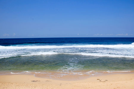 Pantai Kukup terletak di Desa Kemadang, Kecamatan Tanjungsari, Yogyakarta