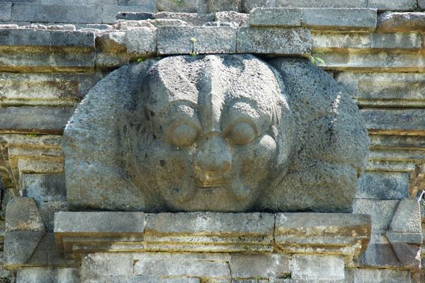 Salah satu relief yang ada di Candi Singosari
