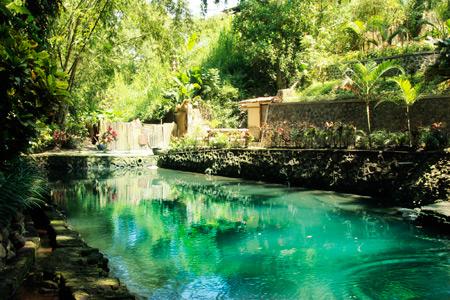 Dahulu Petirtaan Ken Dedes digunakan sebagai tempat mandi putri-putri raja