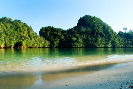 Pulau Sempu menjadi salah satu incaran wisatawan asing maupun lokal untuk berwisata