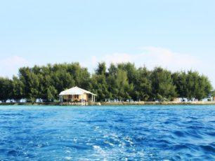 Merasakan Kesunyian di Pulau Gusung Pandan yang Mungil
