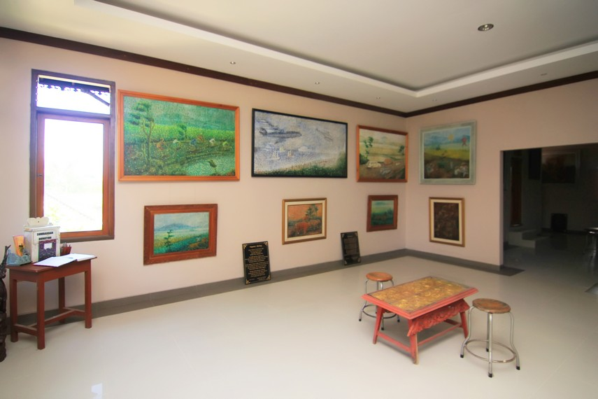 Beberapa lukisan Ngurah Gede Pemecutan yang mengeksplorasi objek yang lebih variatif