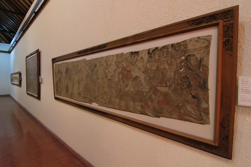 Lukisan Wayang Kamasan merepresentasikan kekayaan khazanah seni lukis klasik Bali