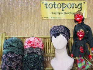 Totopong, Tutup Kepala ala Kabayan