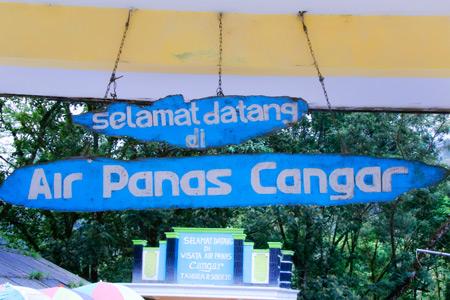Pemandian Air Panas Cangar berada di ketinggian 3.000 mdpl