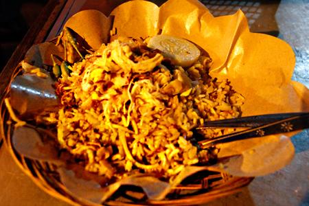 Sepiring nasi goreng rese yang nikmat
