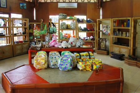 Terdapat lebih dari 100 UKM dengan berbagai kreasi kerajinan di Bogor yang berada dalam binaan Dekranasda