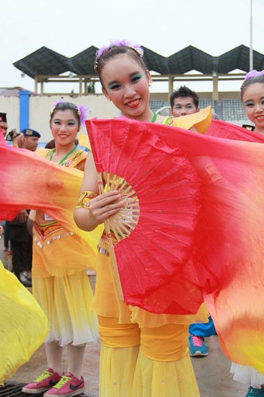 Penampilan dari kontingen asal Taiwan yang tidak mau ketinggalan ikut serta dalam EIFAF 2013