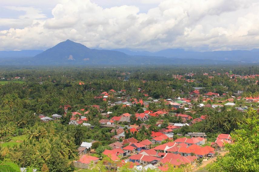 Selain wisata alam di dalam gua, Ngalau Indah juga menawarkan panorama kota Payakumbuh dari kejauhan