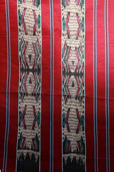 Motif dari kain ulap doyo mencerminkan identitas pemakai dan strata sosialnya