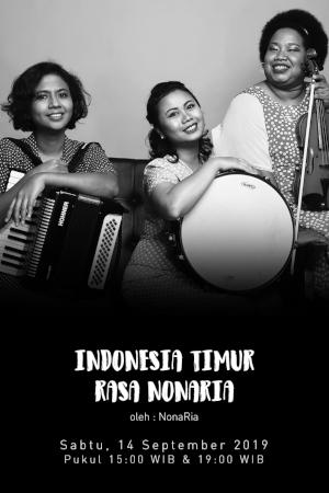 Indonesia Timur rasa NonaRia oleh NonaRia