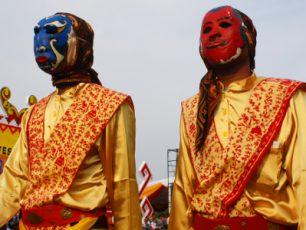 Tradisi Sekura, Kemeriahan Hari Raya di Balik Pesta Topeng