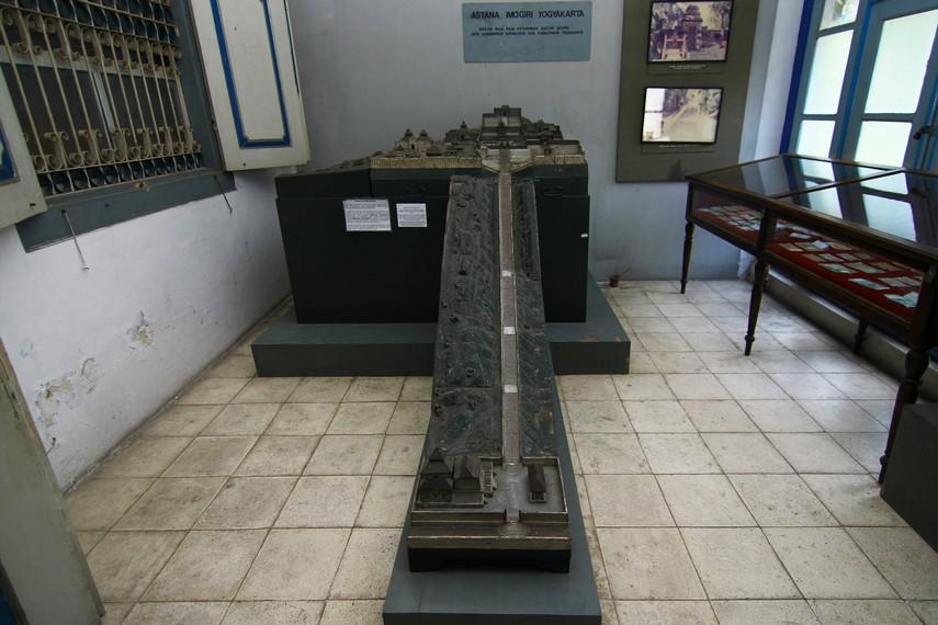 Maket Makam Raja-raja Imogiri yang terdapat di bagian belakang museum. Makam Imogiri merupakan makam raja-raja Mataram serta keturunannya