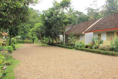 Suasana di Pemukiman Adat Kampung Pulo yang jumlah rumahnya tidak pernah berubah dari masa ke masa