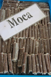 Moca menjadi salah satu rasa dodol yang dapat dinikmati kenikmatannya