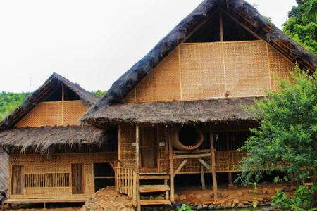 Di Kampung Adat Dukuh terdapat mushola dan madrasah yang letaknya bersebelahan
