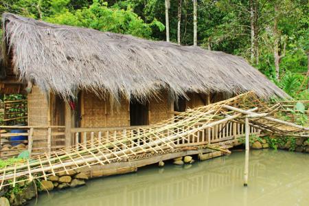 Kamar Mandi umum disediakan bagi seluruh masyarakat atau tamu yang sedang berkunjung ke Kampung Adat Dukuh