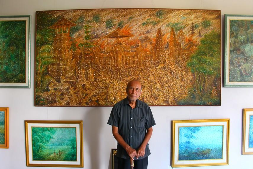 Ngurah Gede Pemecutan dan karyanya, membawa pesan agar generasi muda Bali bangga akan identitas tanah kelahiran mereka