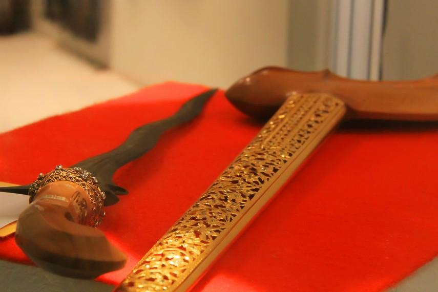 Keris, seni olah logam khas nusantara yang telah ada sejak abad ke-9 M
