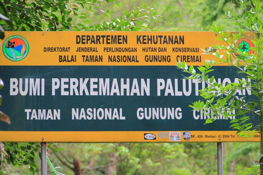 Bagi pengunjung yang ingin mendaki Gunung Ceremai, Palutungan menjadi titik awal untuk pendakian