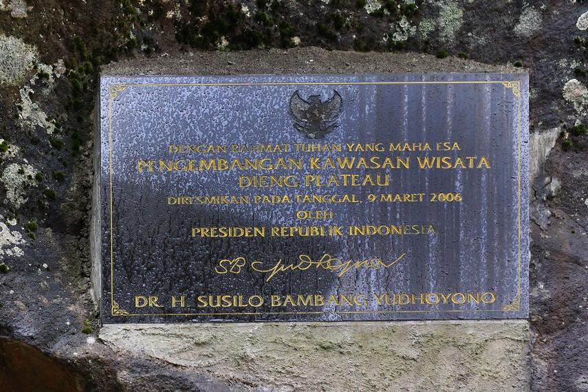 Dieng Plateau Theater diresmikan oleh Presiden Susilo Bambang Yudhoyono pada 9 April 2006