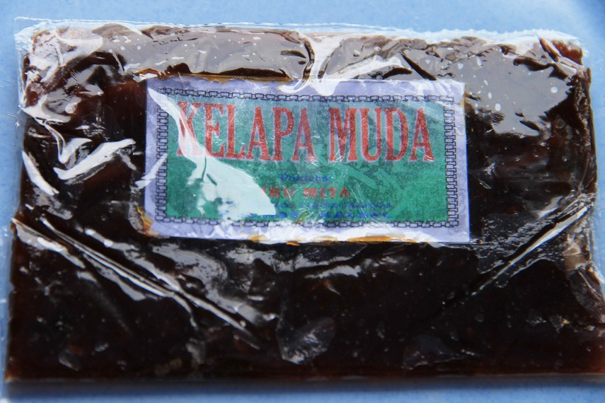 Dodol Kandangan merupakan dodol asli khas Banjarmasin, Kalimantan Selatan