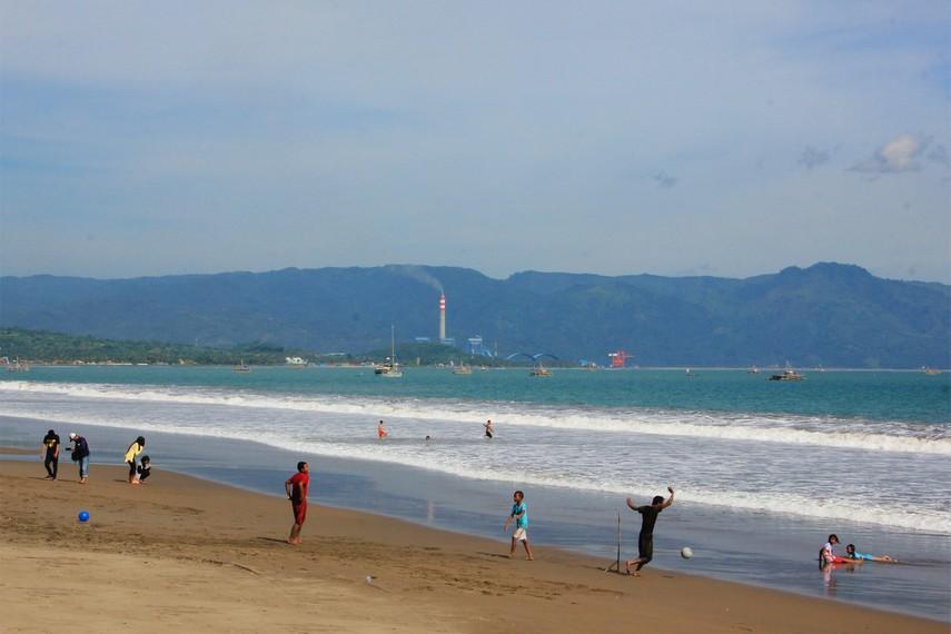 Pantai Citepus menjadi salah satu pantai primadona di kawasan Teluk Pelabuhan Ratu