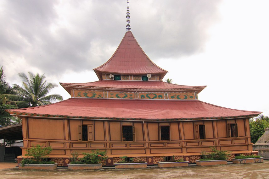 Masjid Tuo Koto Nan Ampek diperkirakan telah berdiri sejak sekitar tahun 1840