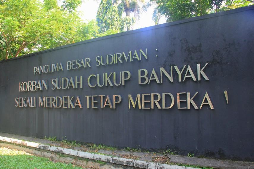 Monpera dibangun oleh Legiun Veteran Sumatera Selatan untuk memperingati pertempuran 5 hari 5 malam  yang menghancurkan sebagian Kota Palembang