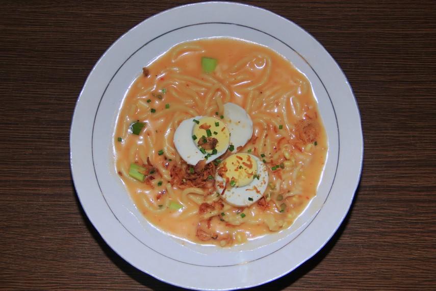 Mie Celor oleh masyarakat Palembang kerap dijadikan sebagai menu favorit saat sarapan