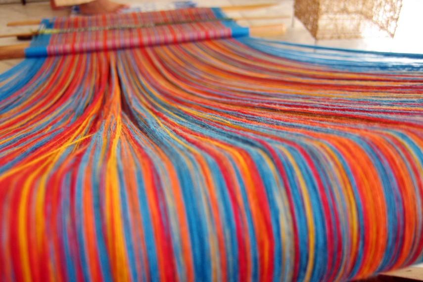 Kain ini menjadi salah satu kain khas Desa Sad'an, Malimbong Tobarana, Kabupaten Toraja Utara