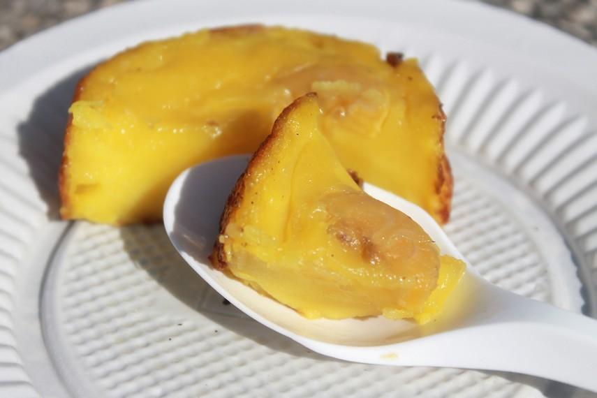 Roti pisang merupakan sejenis jajak (jajanan pasar) dengan citarasa dan aroma khas dari Kutai