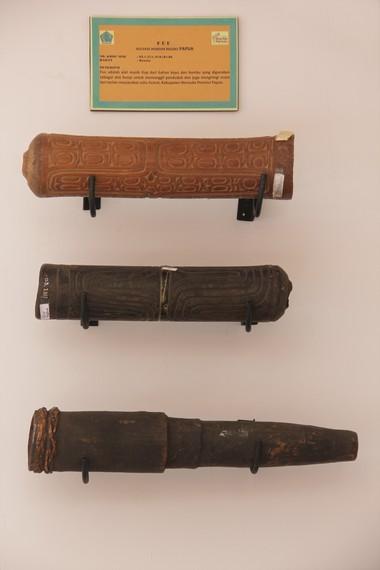Fuu merupakan alat musik tradisional khas Papua yang berfungsi untuk memanggil penduduk