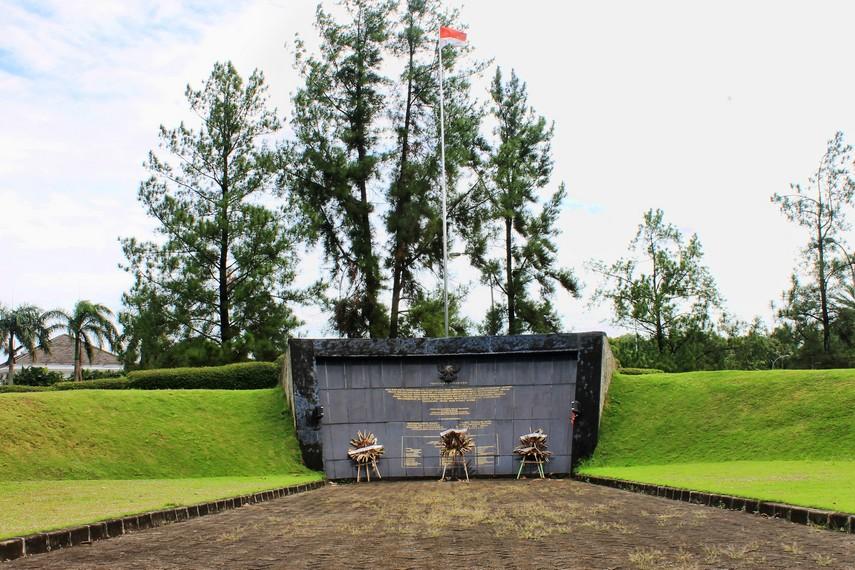 Monumen Lengkong dibangun pada 1993 untuk memperingati Peristiwa Lengkong yang terjadi tahun 1946