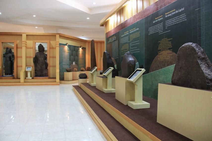 Museum Sriwijaya berlokasi di jalan Syakirti, Karang Anyar, Palembang, Sumatera Selatan
