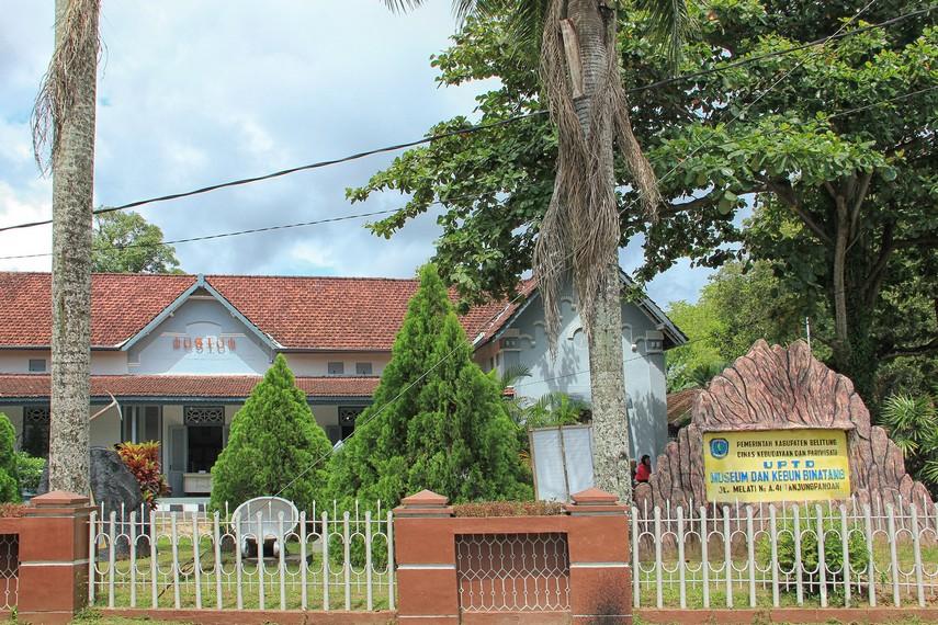 Museum Tanjung Pandan terletak di Jalan Melati No. A41, Kota Tanjung Pandan, Belitung