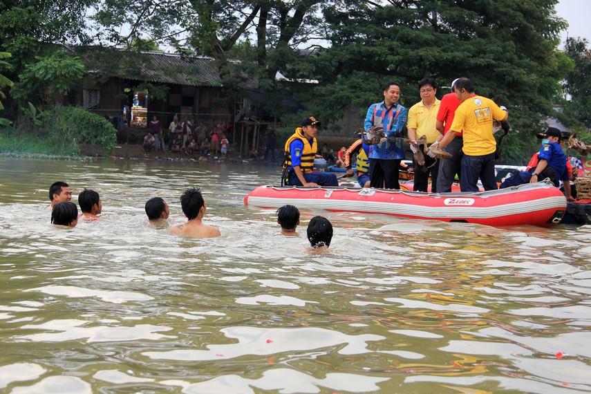 Perkumpulan Boen Tek Bio sudah merayakan pehcun di Sungai Cisadane sejak tahun 1910