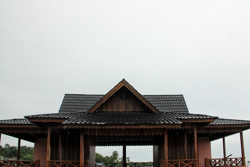 Rumah adat Selat Nasik memiliki ukuran yang lebih kecil dibandingkan rumah adat Belitung