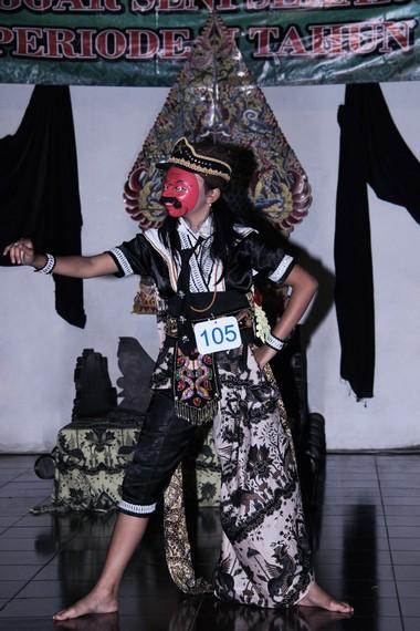 Tari Topeng Temenggung merupakan satu dari bagian Topeng Cirebon yang memiliki 5 karakter