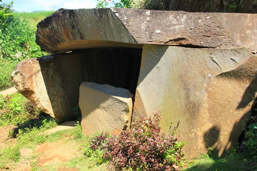 Di Pagaralam ditemukan 22 area yang diyakini merupakan lingkungan situs megalithik dari zaman pra-sejarah